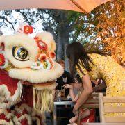 Lion Dance Chinese New Year at Bodhi Restaurant Bar