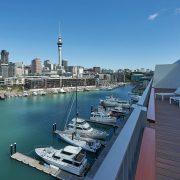 Park Hyatt Auckland Presidential Suite Balcony View