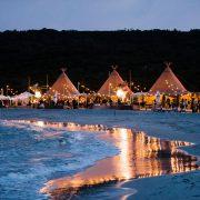 TravMedia Australia 1469399 Gourmet Beach BBQ at night